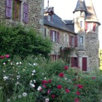 Image of Chateau de Bellefond and the Rose Garden