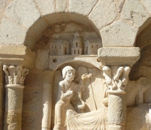 Image of stone carvings in Lagrauliere